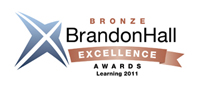 Brandon Hall 2011 Bronze Award