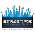 logotipo de best places to work 2008
