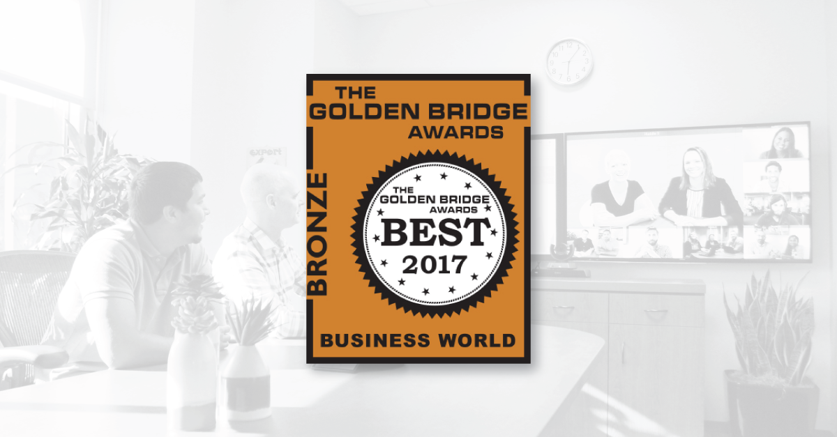 The Lifesize app has been named a Bronze winner for Innovations in Technology in the Golden Bridge Business and Innovation Awards.