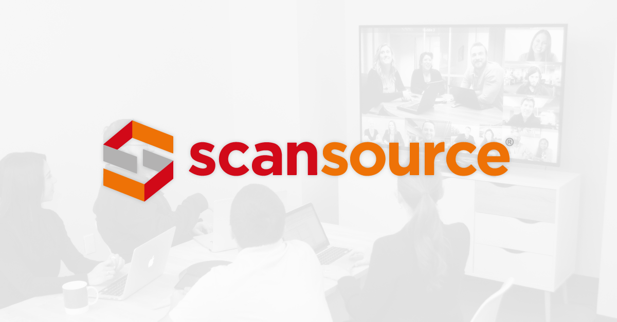We're excited to announce our partnership with ScanSource, a leading global provider of technology products and solutions.