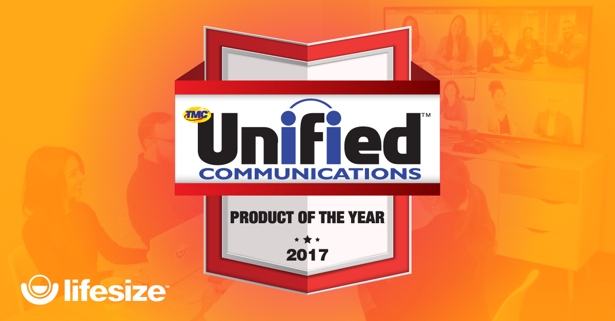 Lifesize wins Unified Communications Product of the Year